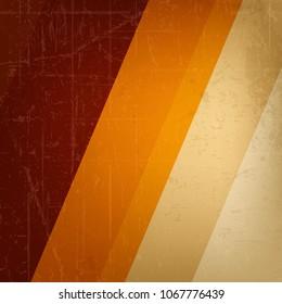 Elegant Vintage Abstract Line Background, Retro Design Layout.