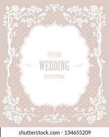Elegant vintage background. For wedding or holiday with space for text