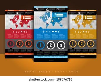 Elegant web site design template