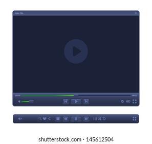 Elegant WEB-video player.
