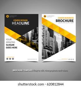 Elegant Yellow Brochure