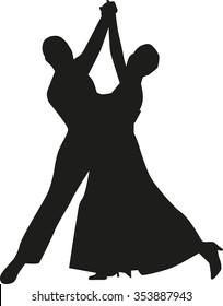 Eleganz couple dancing