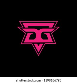Elegent Logo with latter GG For other company