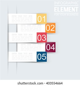 ELEMENT FOR INFOGRAPHIC  TEMPLATE GEOMETRIC FIGURE STIKER THIRD EDITION