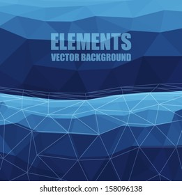 Element Triangle Background