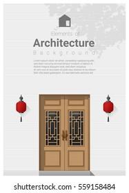 China Door Stock Vectors Images Amp Vector Art Shutterstock