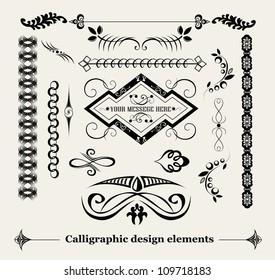 Elements for decoration