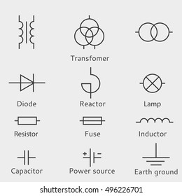 Electrical Symbols Images Stock Photos Vectors Shutterstock