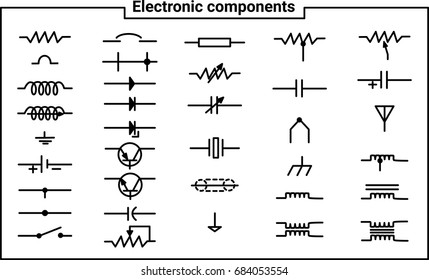 Electrical Symbols Images, Stock Photos & Vectors | Shutterstock