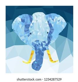 Elephan Low Poly