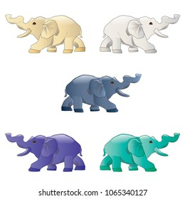 elephant animal vector