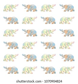 elephant animal vector