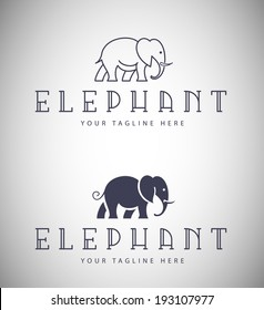 Elephant Emblem for Your Business