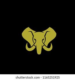 elephant head logo icon designs