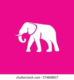 elephant icon illustration isolated vector sign symbol