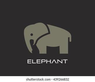 Elephant Logo Vector Illustration