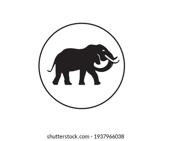 elephant logo for your business , traveling logo, logo for travelling website, Asian elephant logo