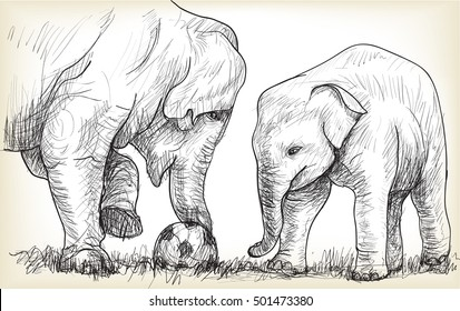 Football Sketch Stock Images Royalty Free Images