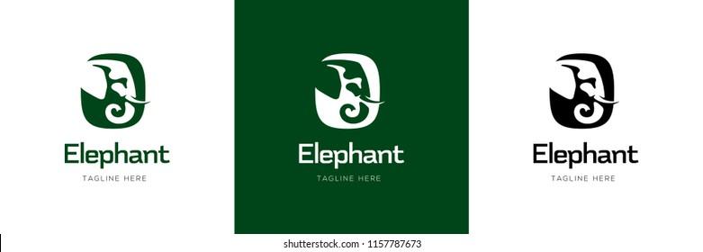Elephant Sign Logo Design