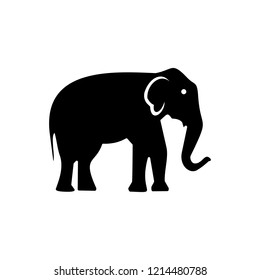 elephant simple icon