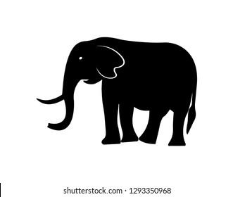 elephant vector icon.