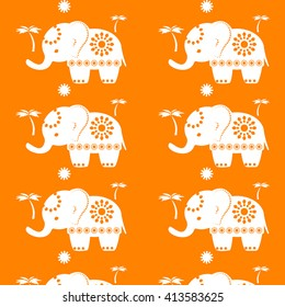 Elephant Outline Images, Stock Photos & Vectors   Shutterstock