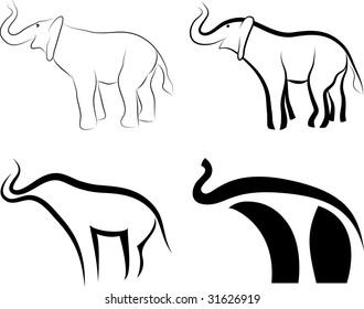 Elephants symbols