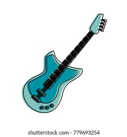 Eletric guitar isolated