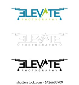 elevate photographic logo designs vector