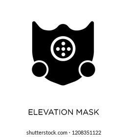 Elevation mask icon. Elevation mask symbol design from Gym and fitness collection. Simple element vector illustration on white background.