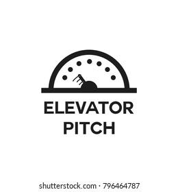 Elevator Pitch Vector Icon