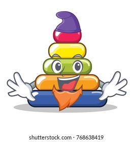 Elf pyramid ring character cartoon