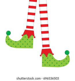 Elf socks vector