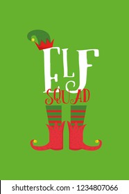 Elf Squad Christmas Gift Holiday Colorful
