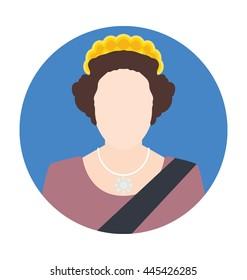 Elizabeth Vector Icon