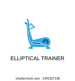 Elliptical trainer icon. Elliptical trainer symbol design. Stock - Vector illustration can be used for web