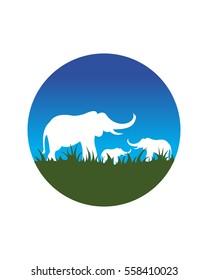 elphant logo vector