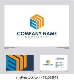 EM logo design