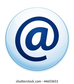 Email address icon. Vector illustration.