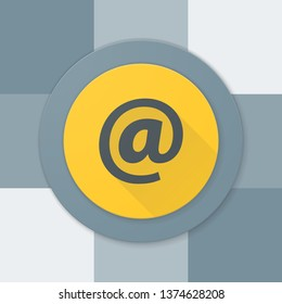 E-mail Contact button illustration