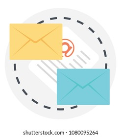 Email correspondence with official document for marketing purposes