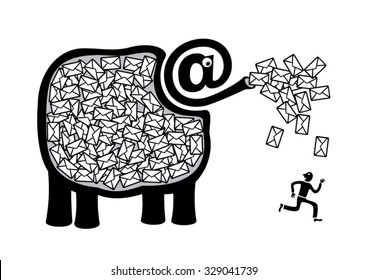 The E-mail Elephant
