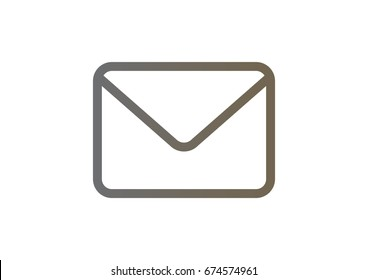 email icon Flat.