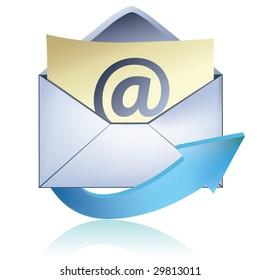 E-mail icon / vector