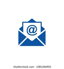 Email icon vector, Envelope sign, Mail symbol vector