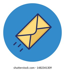 Email Isolated Vector icon which can easily modify or edit