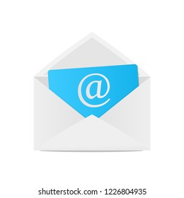 Email letter icon vector design