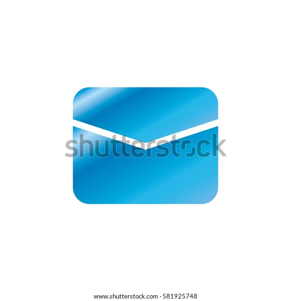 Email or mail symbol icon vector illustration graphic design