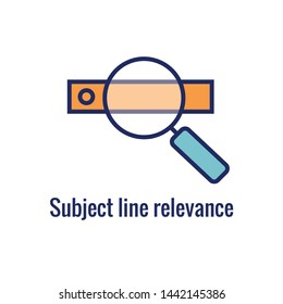 Email Marketing Rules regarding relevant subject line Idea