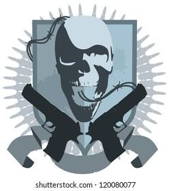 emblem of the gangster
